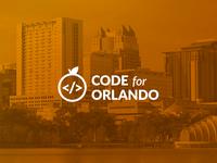 Code For Orlando Logo