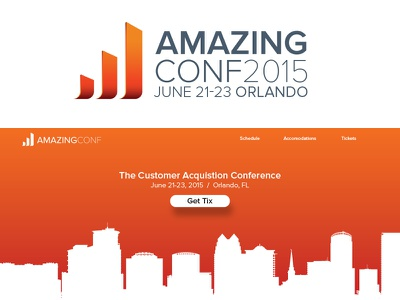 AmazingConf acquisition growth amazing logo