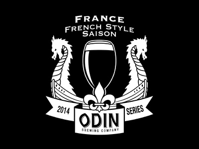 Odin: French Saison france logo beer