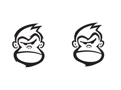 Mean Mugging Ape logo ape