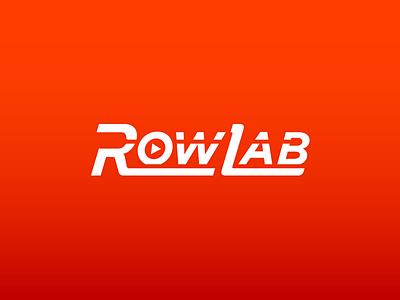 RowLab Logo rowing startup