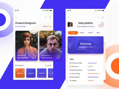 DevSeeker – App Concept
