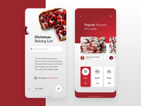 Christmas Baking App - Recipes 🎄