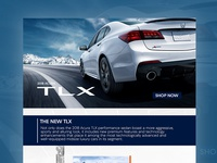 2018 Acura TLX Landing Page