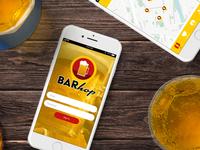 Barhop - App Login
