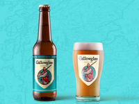 Gallowglass Beer Branding