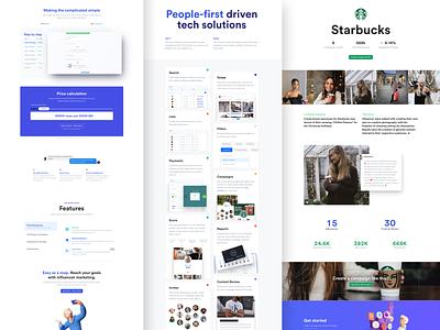 Collabs: New website release website design design frontend development webdesign collabs website