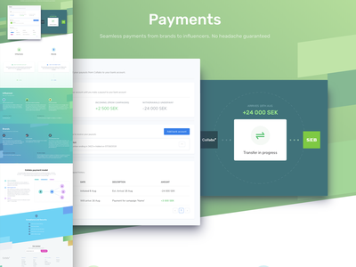 Payments sass html 5 code html css html collabs design website