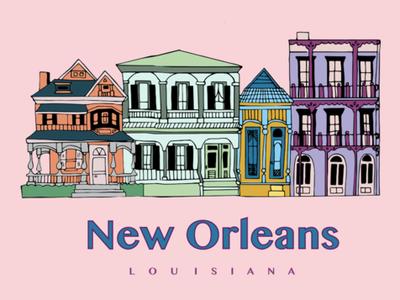 New Orleans Illustration