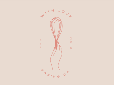 With Love Baking Co Logo