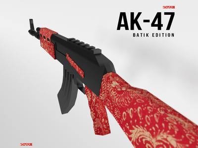 AK-47 Batik Edition