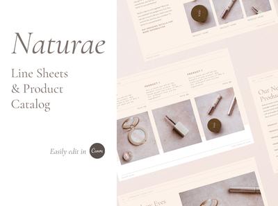Naturae Wholesale Catalog