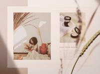 Naturae Wholesale Catalog 2 MakeBe for sale beauty catalog wholesale stylish template minimalist minimal modern natural look natural catalog line sheet line sheet template wholesale catalog beauty template beauty brand