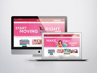 GLOW - Website Banner