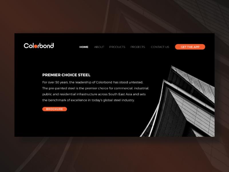 Website Homepage - UI website ui