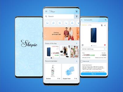 Shopie ecommerce ui ux design