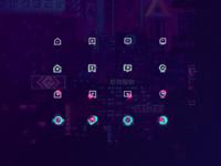 Hana Cyberpunk Icon