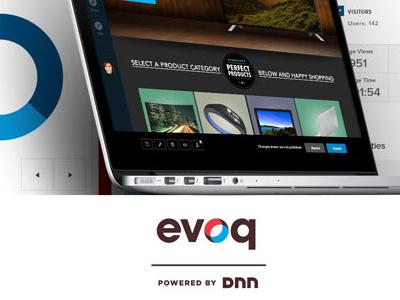 Evoq content 8.0 product features cms interaction uiux product design