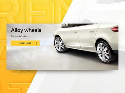 Renault Fluence CG illustration web product illustration cgi renault cars advertising promo
