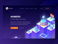 Hero Illustration For Numero Private Digital Currency