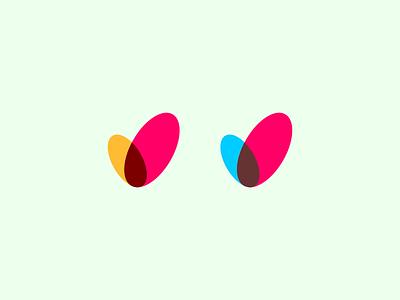V oval v initials pictogram icon logoline logogram monogram monoline initial letter logos logo