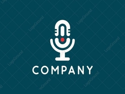 Imusic Logo vector initials smart-logo illustration monoline logogram type identity illustrator designs design best pictogram monogram logos icon logo music logo music microfone
