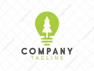 light forest typography branding smart-logo illustration color monoline logogram identity illustrator designs design best pictogram monogram logos icon logo tree forest light
