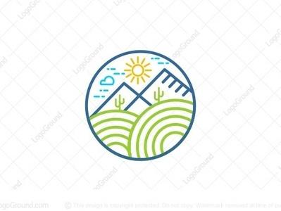 garden line-art mark smart-logo illustration monoline logogram type identity illustrator designs design character best pictogram monogram logos icon logo gardens line art garden