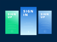 DailyUI #001 Sign Up / Sign In Form
