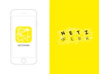 DailyUI #005 Netzwerk App Icon