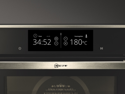 DailyUI #014 Countdown Timer  heat interface neff oven timer countdown ui daily