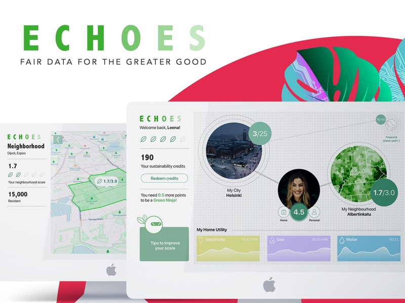 Sustainablity index hackathon dashboad dataviz city maps eco uiux sustainability concept ui