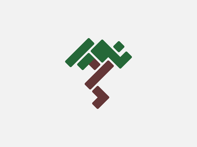 Cubic Tree for sale cubic exploration logo square tree growth