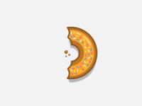 Letter D - Donut