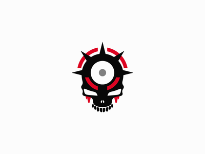 Assassination explosion kill execution hole bullet teeth blood skull target logo exploration challenge assassination depictions depiction