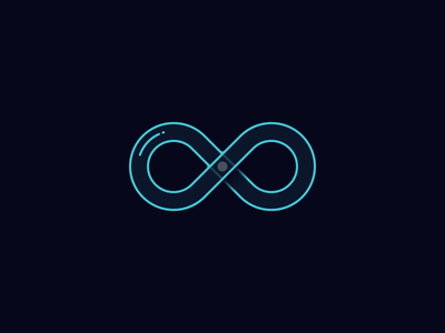 Infinite Energy symbol loading glass infinite infinity animation after effects exploration glow orb ball energy circuit motion vector