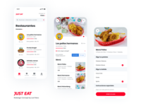 Just Eat App - Redesign Concept #2