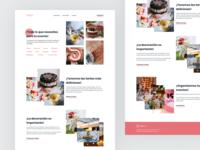Jessy's rebrand | Landing Page