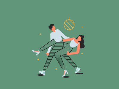 Can't Dance couple man woman dance