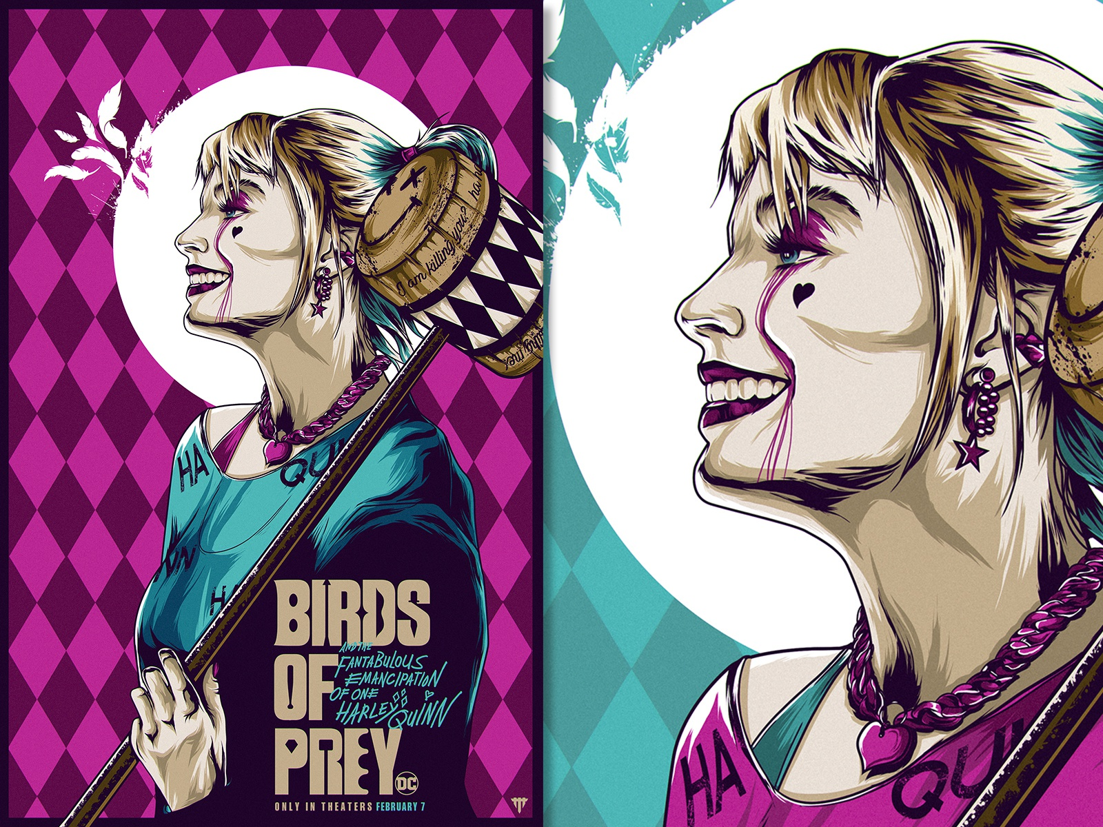 Birds Of Prey Illustrated Poster By Jhony Caballero On Dribbble