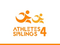 Athletes for siblings logo
