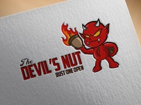 The devil's nut Logo