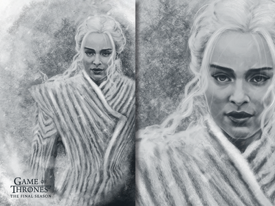 Game of Thrones Poster - Daenerys Targaryen