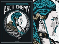 Arch Enemy GIG Poster