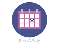 Book A Party Icon
