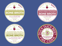Food Labels for Duck Duck Beet