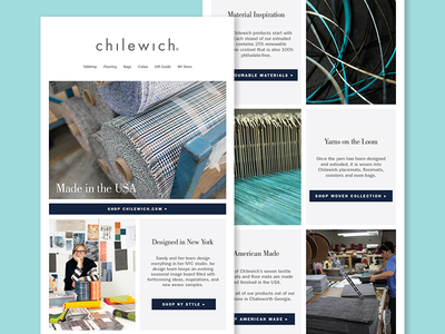 Newsletter - Chilewich - NY Designed | American Made