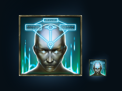 Magic Increase Ability Icon ability icon concept art item shops moba icons game icons game art painting gaming rpg