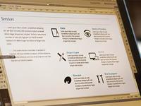 Portfolio Services Icons