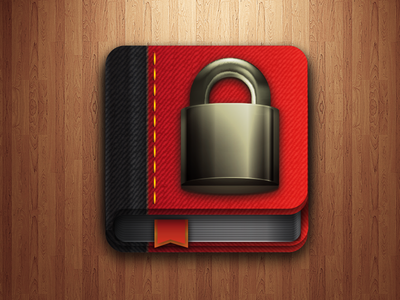 Private Journal Vector Icon